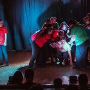 Kuva: Vesa Moilanen Mielituvan 20v.juhla Mielen tanssiaiset-esitys